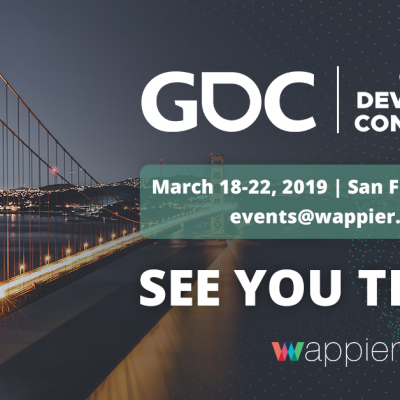 Going to GDC San Francisco 2019!