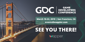 Going to GDC San Francisco 2019!
