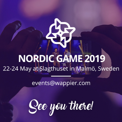 Going to Nordic Game 2019! 🇸🇪