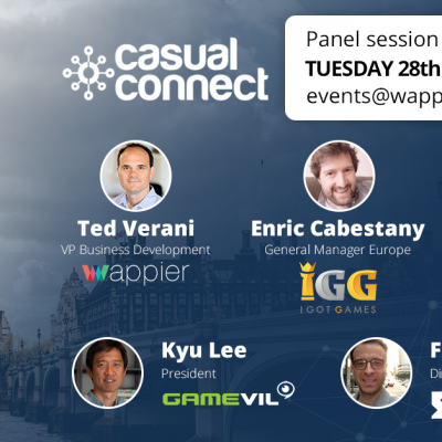 wappier @ Casual Connect London 2019 🇬🇧