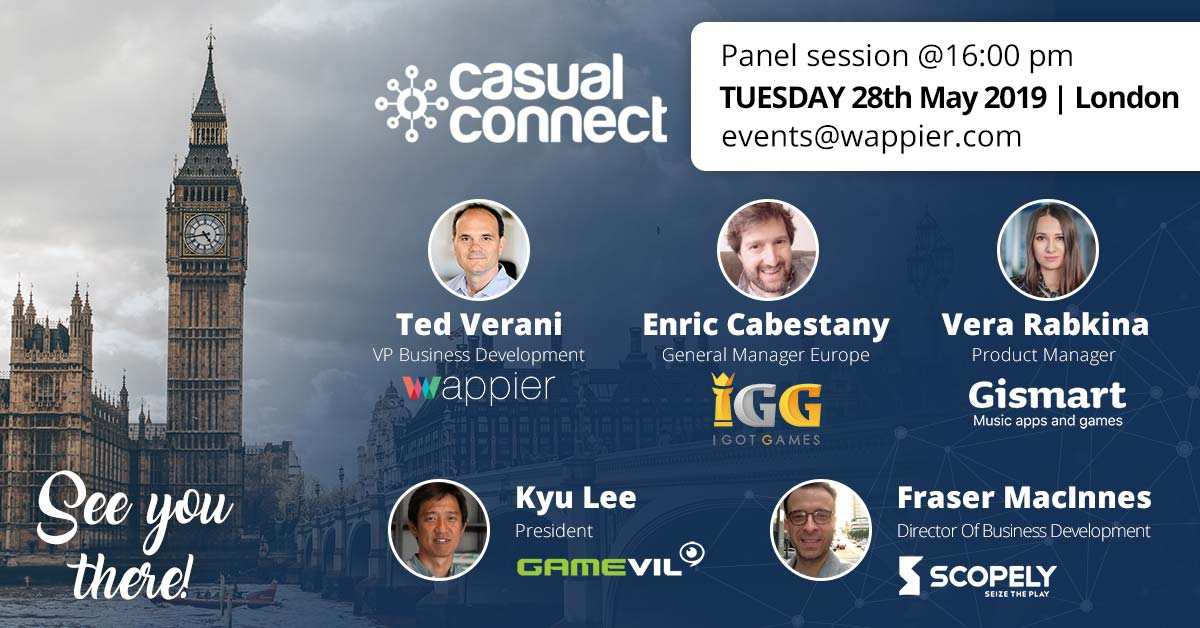 wappier @ Casual Connect London 2019