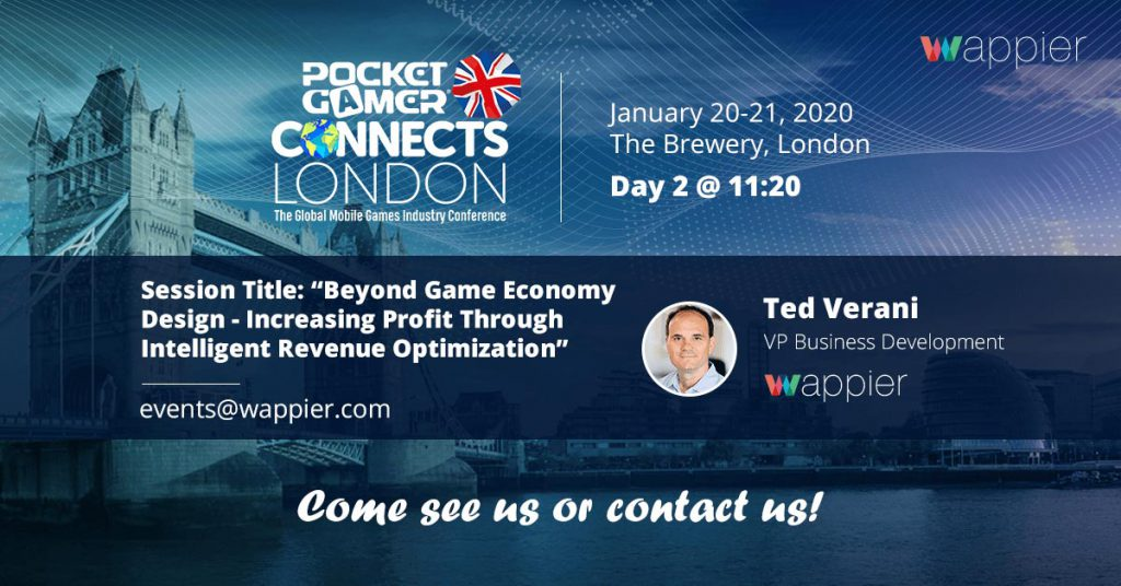 PGC London 2020, events, mobile games, PGC, PGC Helsinki, Pocket Gamer Connects, wappier