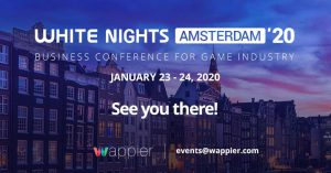 White Nights Amsterdam 2020, Events, Mobile Games, Game Dev, White Nights, Amsterdam